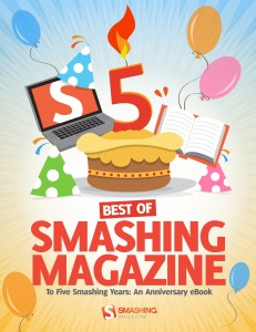 Best of Smashing Magazine 5 Year Anniversary