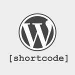 What WordPress shortcodes should be used for